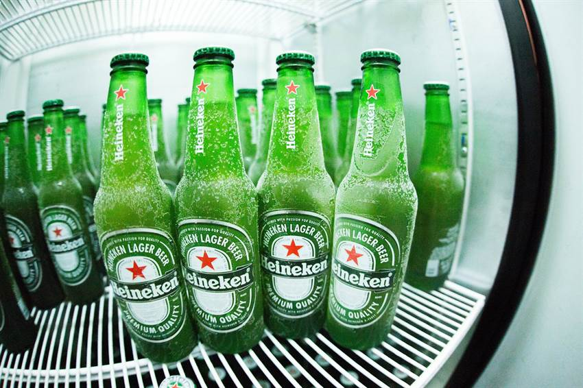 Beer in the fridge