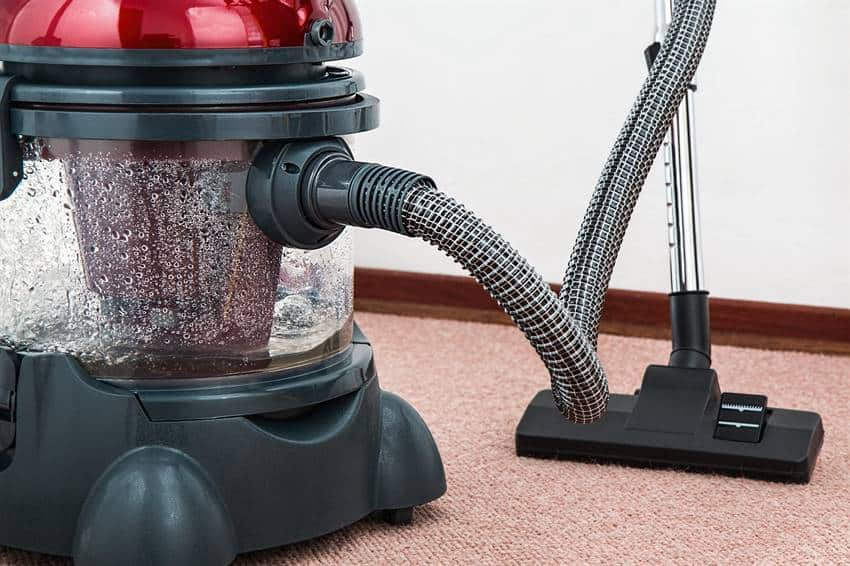 Clean your carpets to get rid of man smell