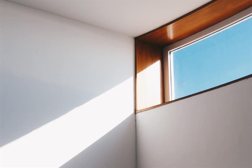 Open window in a man cave