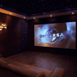 A movie themed man cave